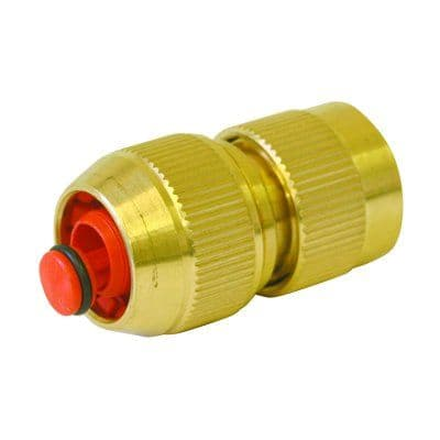 Brass Stop Connector