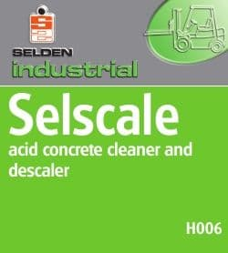 Selden Selscale H006 Acid Concrete Cleaner And Descaler
