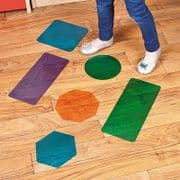 13 x Large Self-Adhesive Floor Shapes