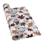 "Autumn Leaves PVC Tablecloth - 60"" x 40"""