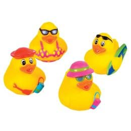 Beach Rubber Duckies | Bath Toys | Rubber Ducks