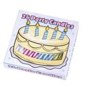 Birthday Cake Candles - 24 Pack
