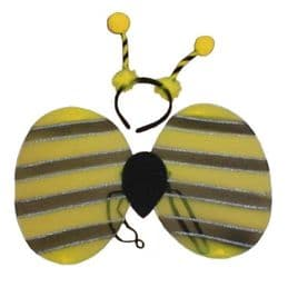 Bumblebee Fancy Dress Costume | Wings and Boppers