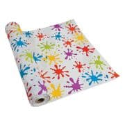 "Coloured Paint Splash PVC Tablecloth - 60"" x 40"""