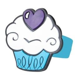 Purple Heart Cupcake Ring | Kids Novelty Fashion