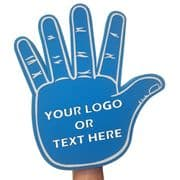 Custom Printed High Five Foam Hand - 4 Colours Available