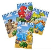 Dinosaur Notepads - Set of 4