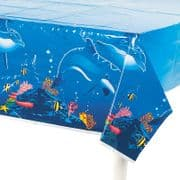 Dolphin Sea Animal Tablecloth