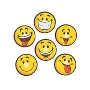Emoji Face Magnets - Set of 6 Smileys