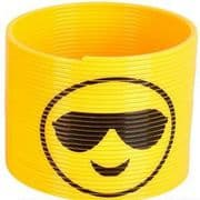Emoji Slinky Toy - Cool Sunglasses Smiley