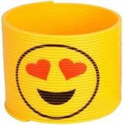 Emoji Slinky Toy - Love Heart Eyes Smiley
