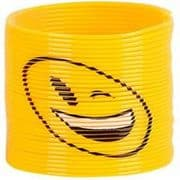Emoji Slinky Toy - Winking Smiley