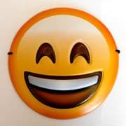 Emoji Smiley Mask