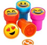 Emoji Stamps - Set of 4 Smileys