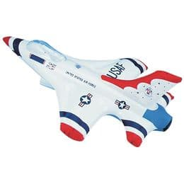 Inflatable Jet Plane Toy   Blow Up Vehicle Inflates