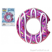Giant Inflatable Pink Doughnut with Sprinkles - 50cm