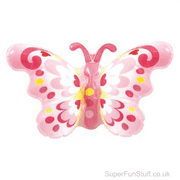 Inflatable Butterfly on Wristband Toy - 25cm
