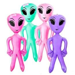 Inflatable Girl Alien - Extra Large | Kids Blow Up Giant Alien