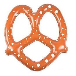 Inflatable Pretzels | Funny Blow Up Food Novelty Toy