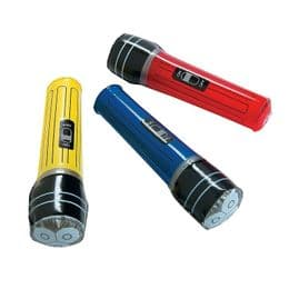 Inflatable Torch | Blow Up Novelty Toy | Choice of Colours