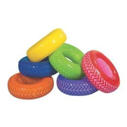 Inflatable Ring Tyres | Blow Up Novelty Toy for Pools and Parties