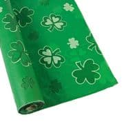 "Irish Shamrock PVC Tablecloth - 60"" x 40"""