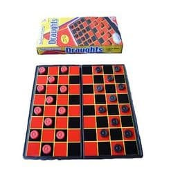 Magnetic Travel Draughts Board Games | Indoor and Family Activities