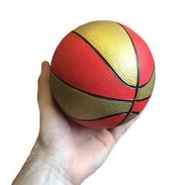 Mini Basketball   Red & Gold   Sports Gift