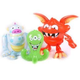 Inflatable Monsters | Blow Up Novelty Toy | Halloween Party Stuff