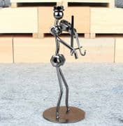 Nuts & Bolts Metal Figure - Violin Man