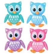 Owl Inflatable - 4 Colours