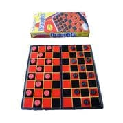 Pack of 10 x Magnetic Travel Draughts Board Game