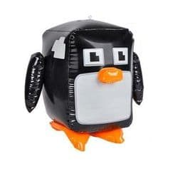 Penguin Inflatable | Pixel Video Game Design | Cool Blow Up Animals