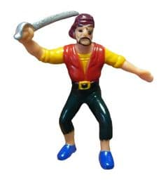 Buy Toy Pirate Figurine Edward | Party Bag Toy | Pirate Novelty