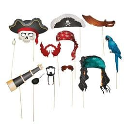Photo Booth Props | Pirate Picture Party Sticks