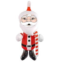 Giant Santa Claus Christmas Inflatable 120cm | Blow Up Party Toys