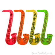 Saxophone Inflatable - 55cm - Choice of 3 Colours