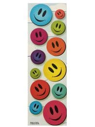 Smiley Face Stickers - 96 Pack | Party Bag Stuff
