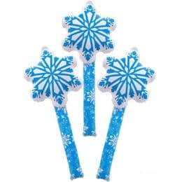 Snowflake Wand Inflatable | Novelty Christmas Blow Up Toy
