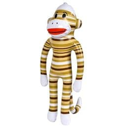 Sock Monkey Inflatable Toy | Blow Up Animals for Parties