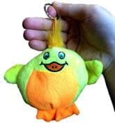 Soft Chick Animal Toy Keyring