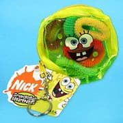 Spongebob Pouch and Hair Bobbles SALE £0.99