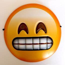 Emoji Mask UK | Teeth Grimace Face | Party Novelty