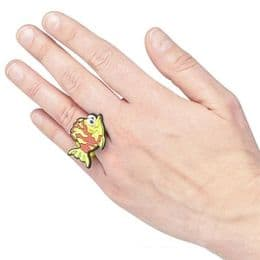 Tropical Flounder Fish Ring for Kids | Just 99p
