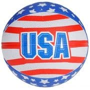 USA Stars & Stripes Mini Basketball