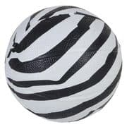 Zebra Animal Print Mini Basketball