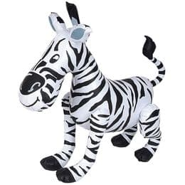 Inflatable Zebra Toy | Blow Up Animals | Inflatable Animals