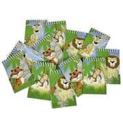 Zoo Animal Notepads - Set of 4