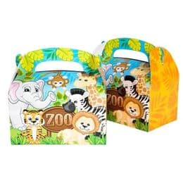 Zoo Animal Party Goodies Box |Animal Themed Parties