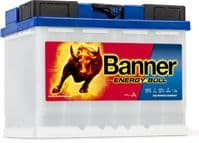 Banner 95501 Energy Bull Battery 12v 60Ah From £77.49 EX VAT Buy Online from The Battery Shop